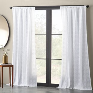 White Cotton Sheer Curtains | Wayfair