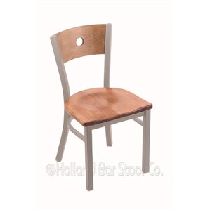 Voltaire Solid Wood Dining Chair by Holland Bar Stool