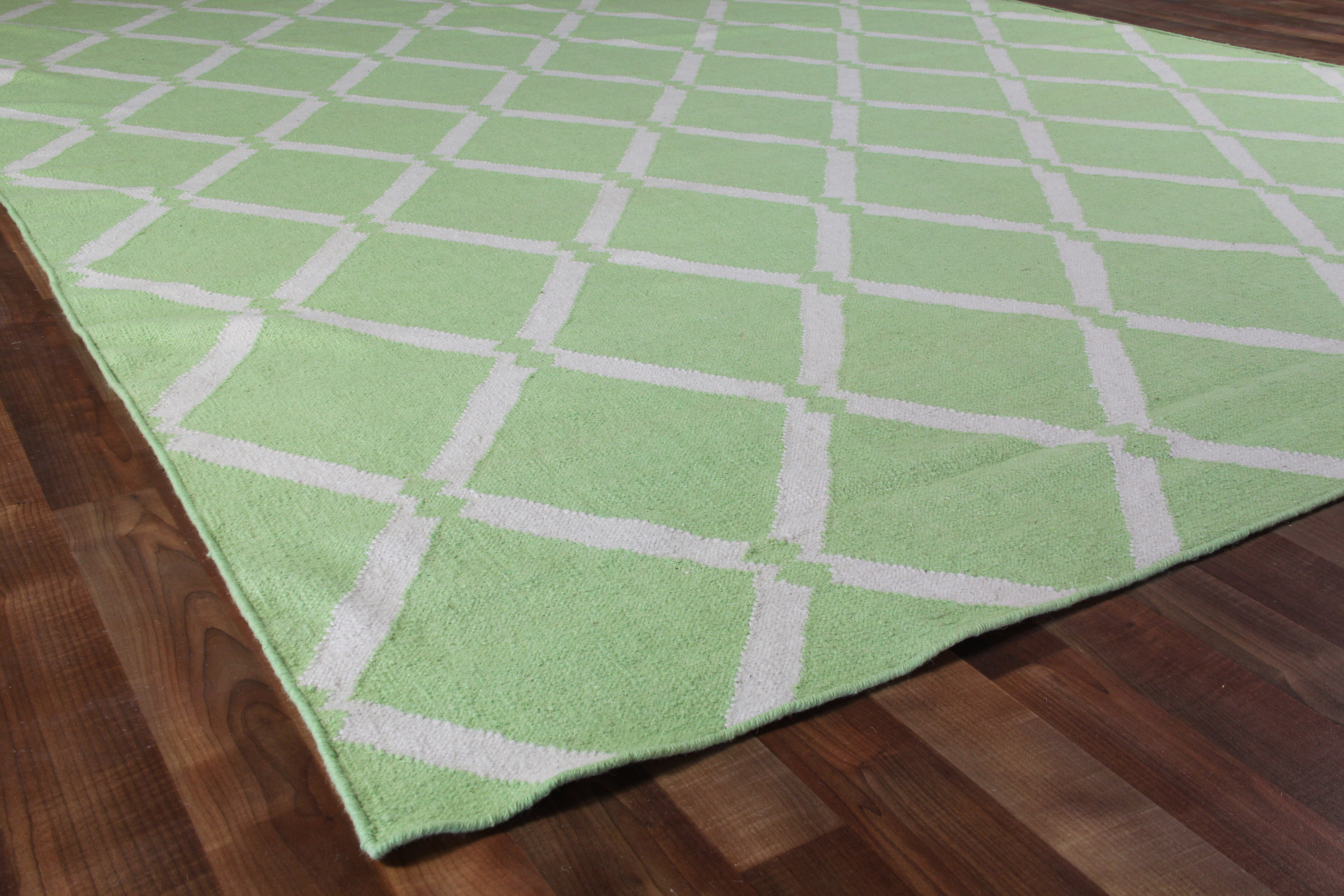 Exquisite Rugs Flat Woven Wool Light