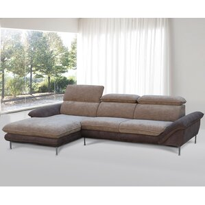 Flocking Reclining Sectional by Container