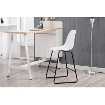Peachy Thurlow Upholstered 24 Bar Stool Evergreenethics Interior Chair Design Evergreenethicsorg