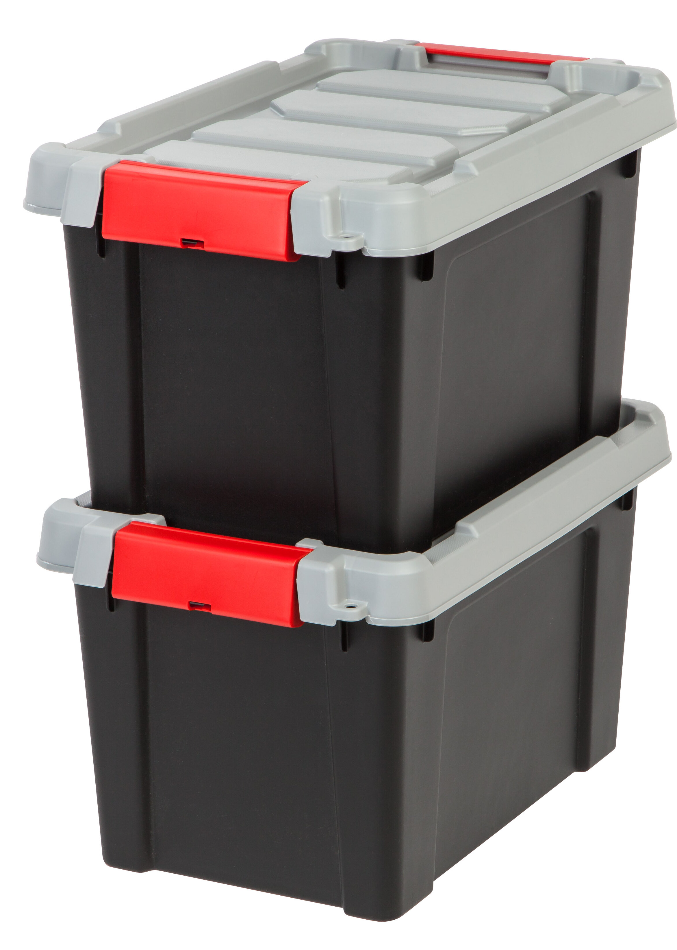 Creative Options Medium Tidy Box Heavy Duty Clear Plastic Storage Compartments