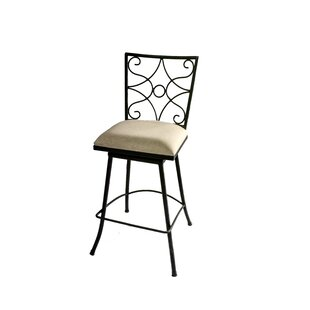 Find the perfect Chatou Iron 30 Swivel Bar Stool by Fleur De Lis Living Reviews (2019) & Buyer's Guide