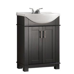 "Quickview. Black. Gray. White. Fresca. Cambria 24"" Single Bathroom Vanity"