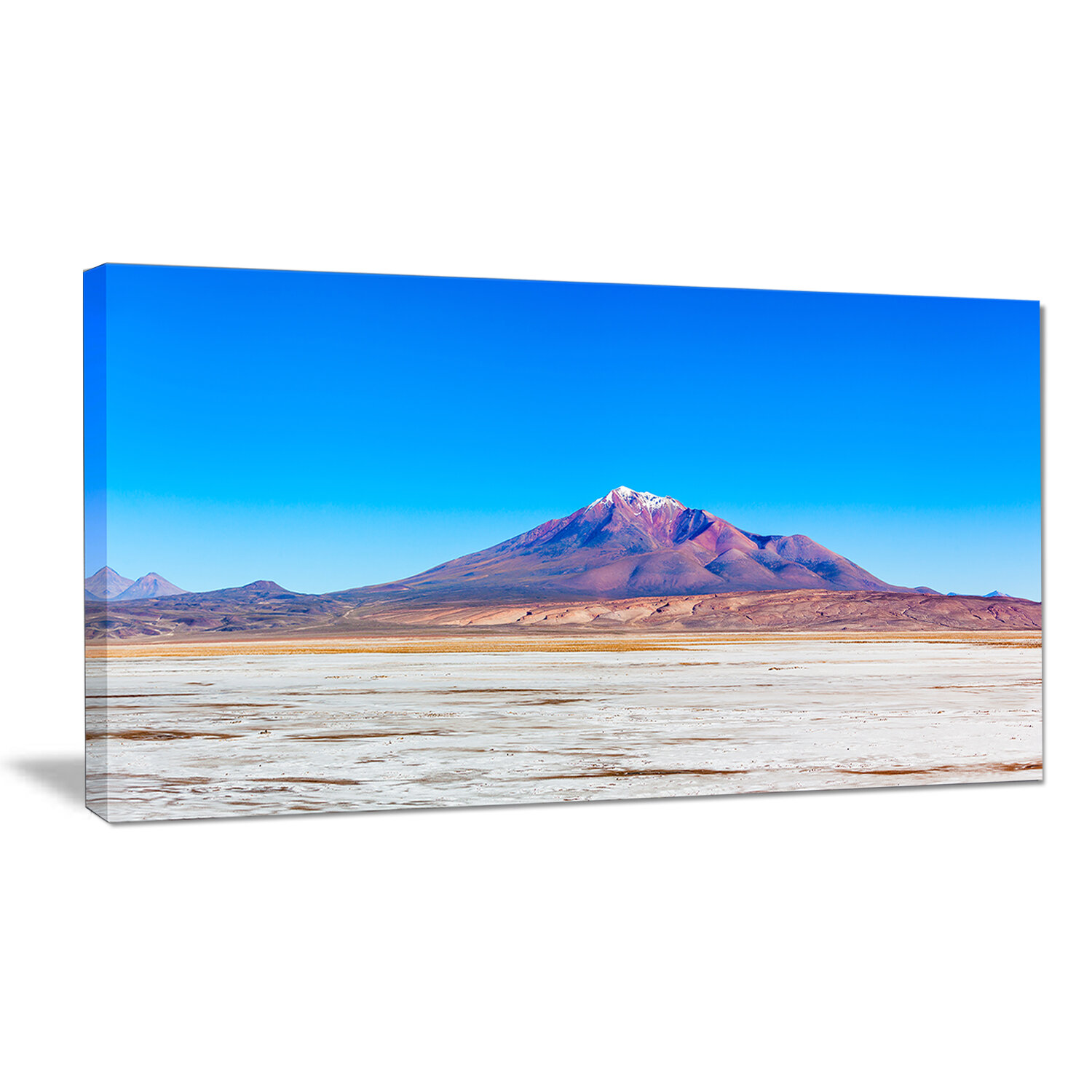 Designart Altiplano Near Uyuni Panorama Photographic Print On Wrapped Canvas Wayfair