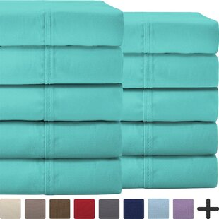 Pavia Double Brushed Microfiber Sheet Set by Darby Home Co Sale