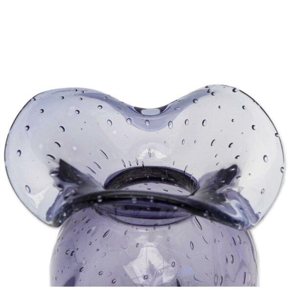 Wrought Studio Pratolina Rain Decorative Art Glass Table Vase Wayfair Ca