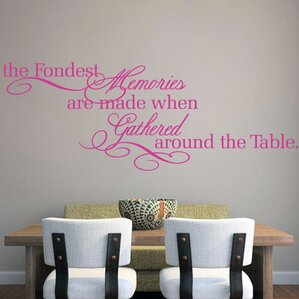 Exceptional The Fondest Memories Wall Decal