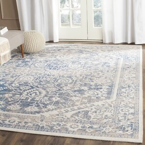 Christina Gray Blue Area Rug