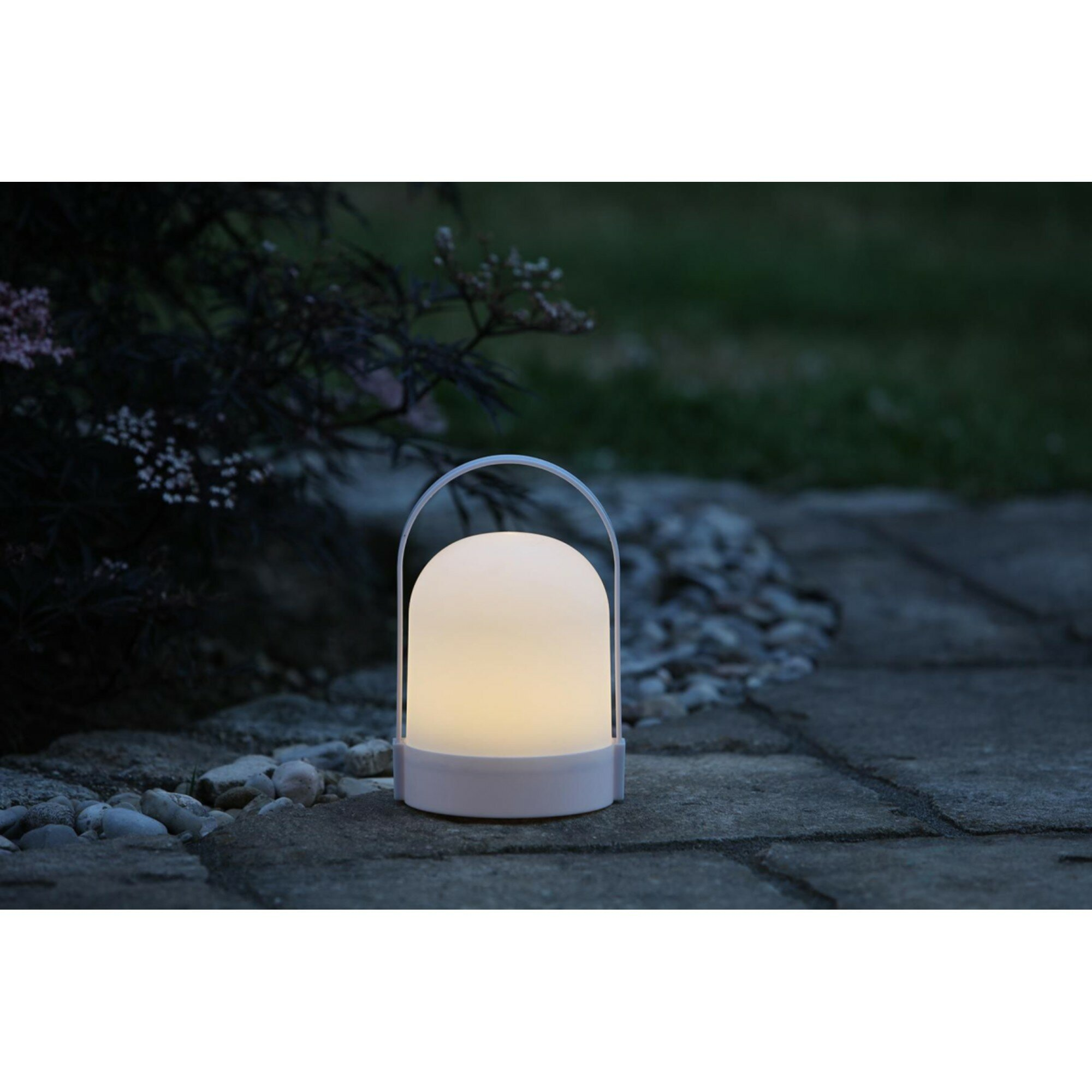Corrigan Studio Gathers 21cm Battery Powered Led Outdoor Table Lamp