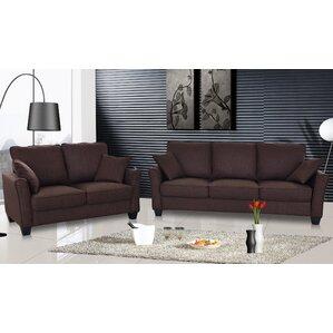 Talia 2 Piece Living Room Set by PDAE Inc.