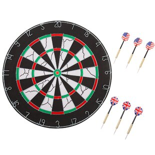 Double-Sided Flocking Dartboard by Hey! Play!