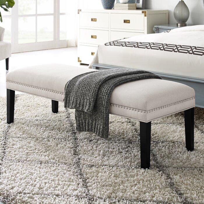 Outstanding Bobby Upholstered Bench Evergreenethics Interior Chair Design Evergreenethicsorg