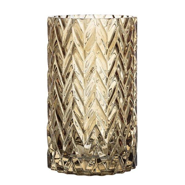 Etched Glass Vase Wayfair