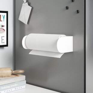 Magnetic Paper Towel Holder by Rebrilliant Cool