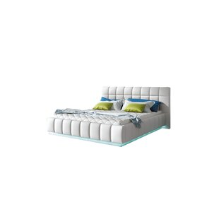 Bordeaux King Upholstered Storage Platform Bed with Mattress