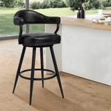 Adelita Swivel Bar & Counter Stool by Ivy Bronx