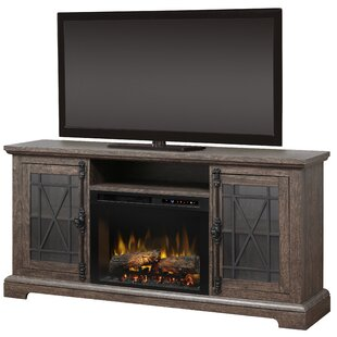 TV Stand for TVs up to 65 with Fireplace by Dimplex
