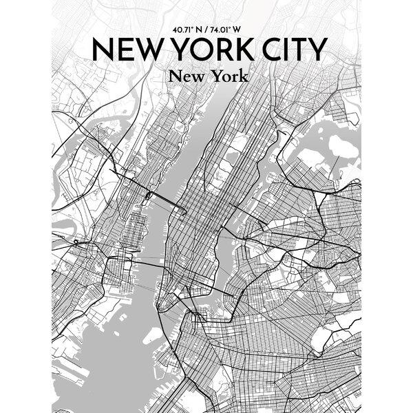 New York City Map Art Ly79 Advancedmassagebysara