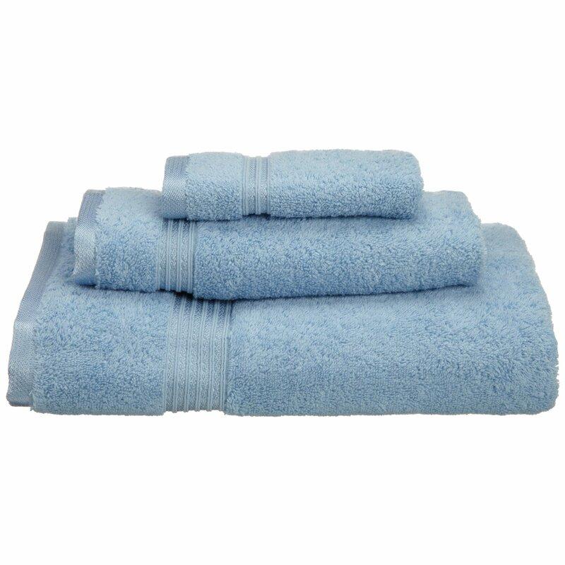 4c44f744b8 The Twillery Co. Patric 3 Piece 100% Cotton Towel Set   Reviews ...