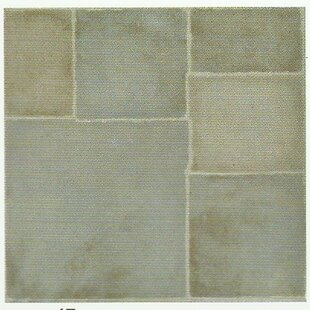 Carrara 30.5cm x 30.5cm PVC Mosaic Tile in Grey/Green by Friedola