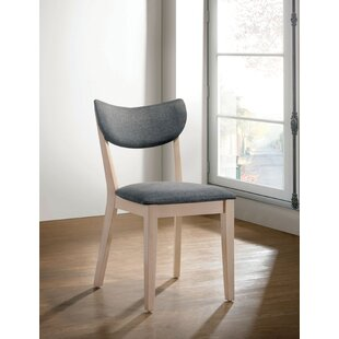 Castaneda Mid-Cenutry Modern Upholstered Dining Chair (Set of 2)