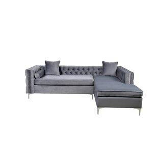 Caitlin Sectional by Mercer41 Reviews