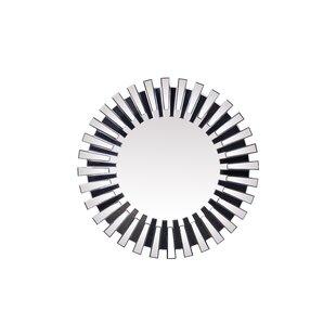 Wrought Studio Katya Round Accent Mirror