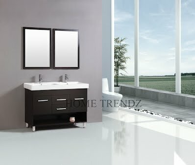 48 Double Bathroom Vanity Set With Mirror