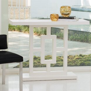 Grid Block Console Table by Global Views Cool
