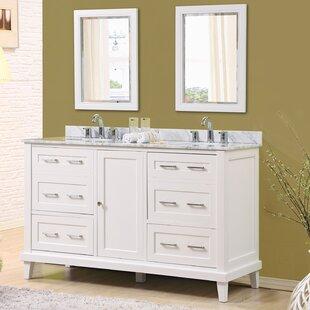 Fairlee 60 Double Bathroom Vanity Set with Mirrors by Latitude Run