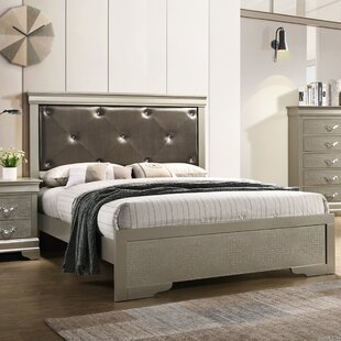 Mize Upholstered Panel Bed