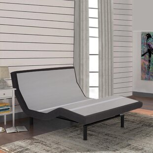 4 Massaging Zero Gravity Adjustable Bed with Wireless Remote