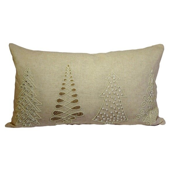 Image of Nothing Like Christmas Lumbar Pillow up to 46% off