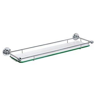 Glass Taborets Wall Shelf by Gatco