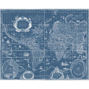 Vintage Blueprint | Wayfair
