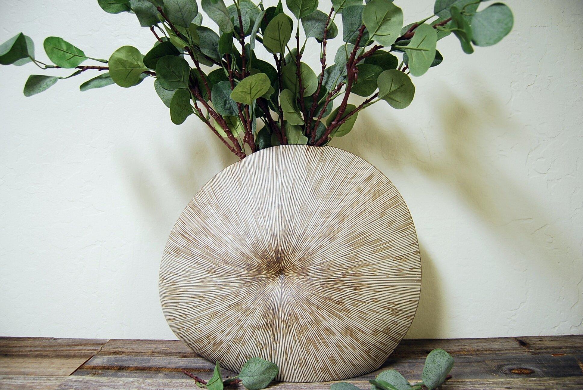 Highland Dunes Damari Table Vase Wayfair