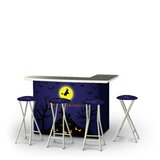 Zanuck Halloween Full Moon 5-Piece Bar Set