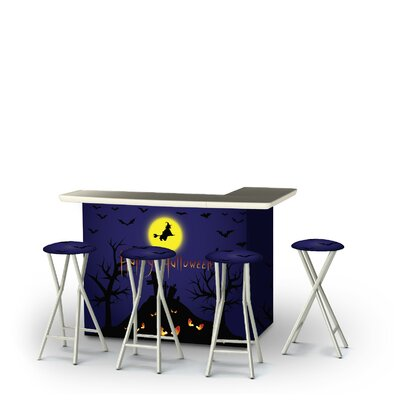 Zanuck Halloween Full Moon 5-Piece Bar Set by East Urban Home Today Only Sale