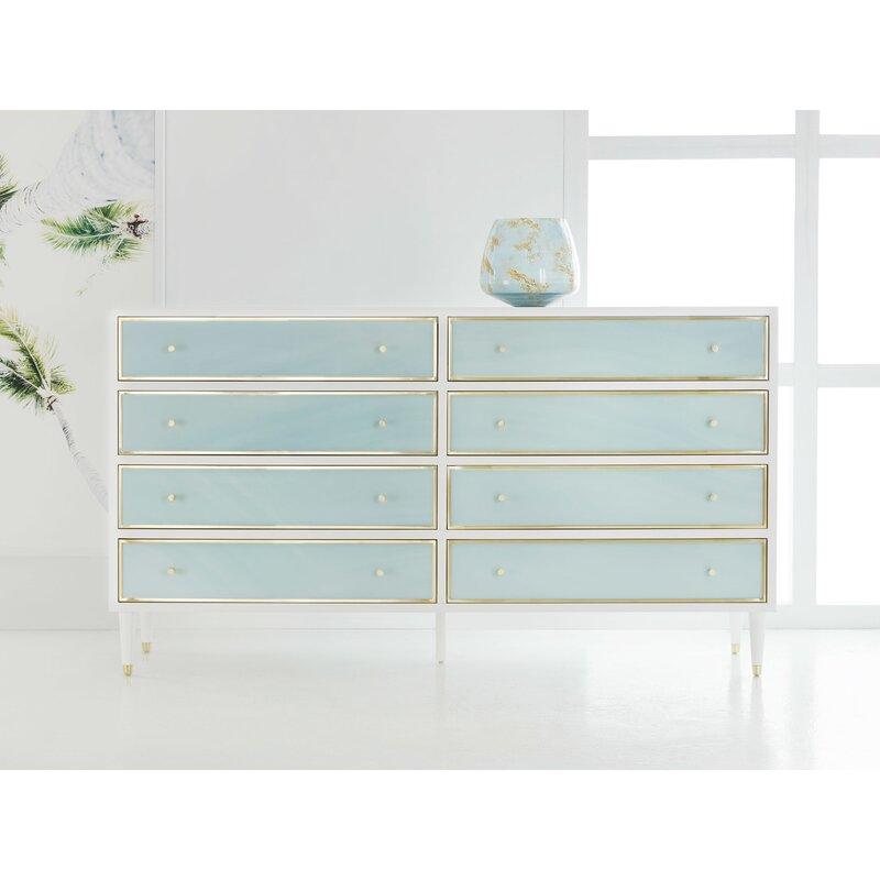 Modernhistory 8 Drawer Double Dresser