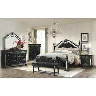 Aaden Four Poster Configurable Bedroom Set