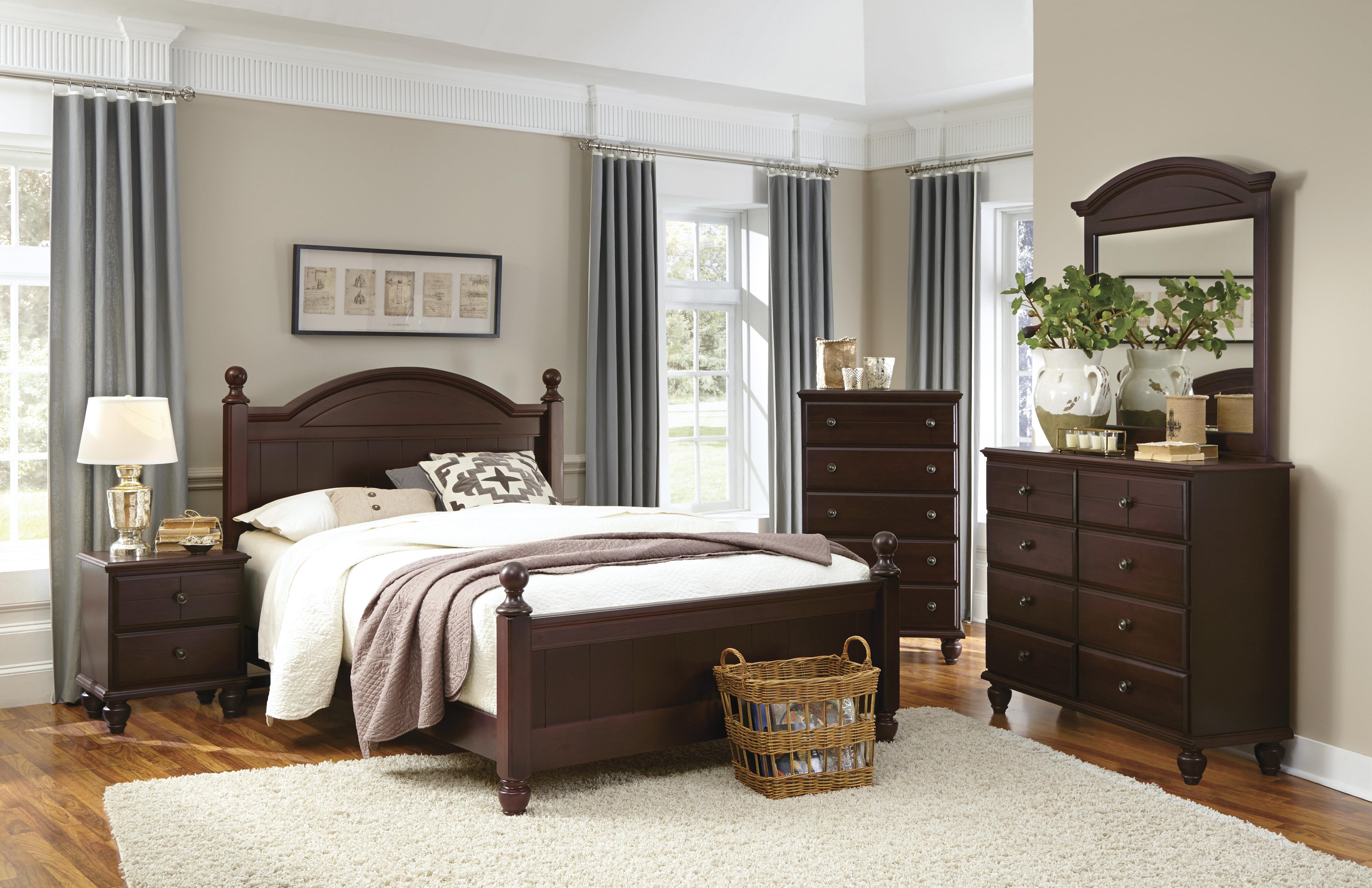 Carolina furniture works inc craftsman panel configurable bedroom set reviews wayfair