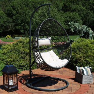 Abel Hanging Egg Swing Chair with Stand by Brayden Studio