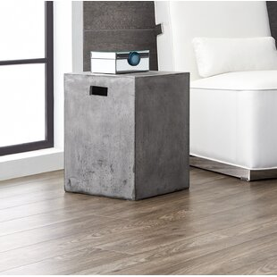 Spitzer Castor End Table with Storage