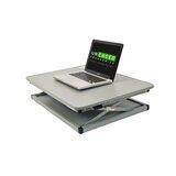 Bridgeview Height Adjustable Standing Desk Converter by Symple Stuff