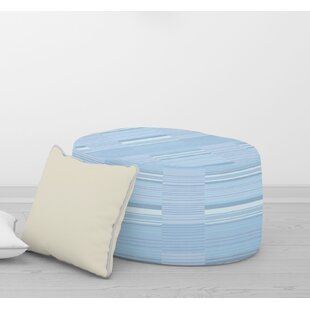 BAUHAUS STRIPE Pouf By Becky Bailey by Bungalow Rose