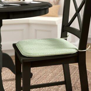 Burlap Dining Chair Cushion Wayfair