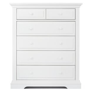 Parker Tall 6 Drawer Chest by Evolur