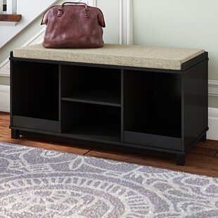Krausgrill Four Cubby Upholstered Storage Bench by Gracie Oaks