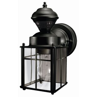 Affordable Price Larsen 1-Light Outdoor Wall Lantern By Three Posts